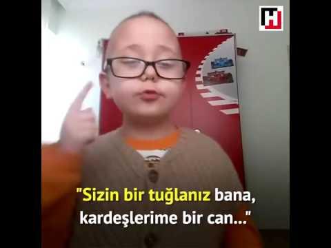 Lösemi hastası Mustafa Eren Can'ın yayınladığı anlamlı video herkesi duygulandırdı.