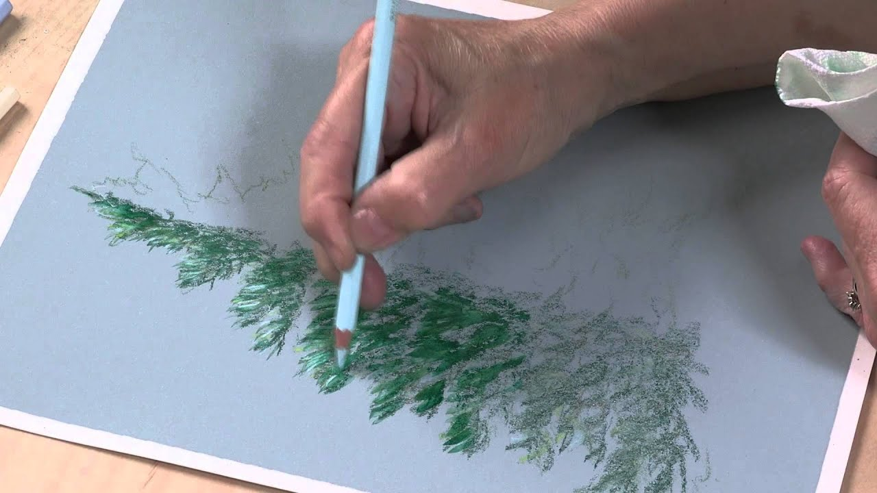Preview Colored Pencil Techniques Easy Landscape Painting With