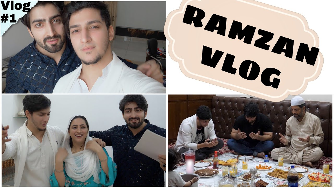 FIRST VLOG | RAMZAN VLOG | Danish F Dar | Dawar Farooq | Ramzan Mubarakh
