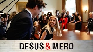 Justin Trudeau and Ivanka Trump on Diplomatic Date
