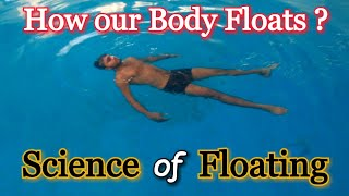 Science of swimming | Floating - The bouyancy effect | KD Fitness |