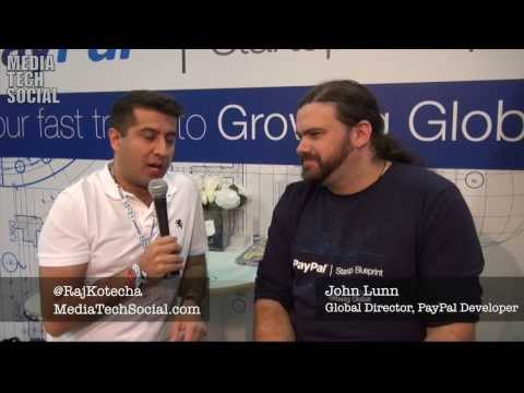 PayPal's John Lunn on Supporting Start Ups - WebSummit 2013