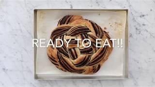 Chocolate babka knot