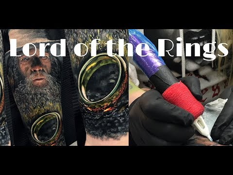 Tattoo Timelapse | Lord of the Ring Tattoo