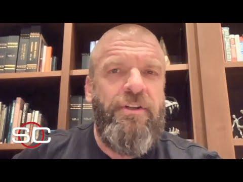 Triple H Remembers His Favorite WrestleMania Moment, Previews WrestleMania 36   SportsCenter