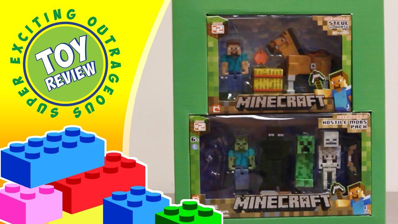 Minecraft Steve Multi-Pack Target Exclusive Chestnut Horse ... - photo#27