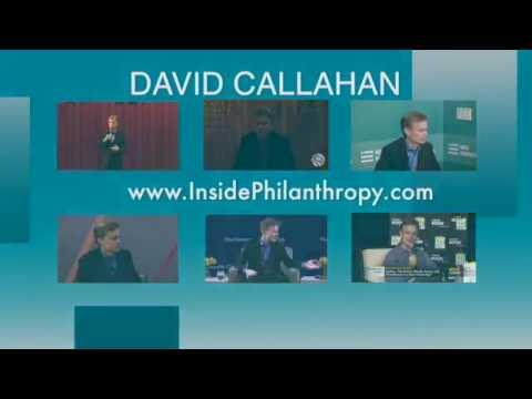 David Callahan Speaking