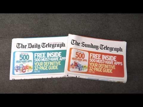 Telegraph UK - 500 Must Have Apps - VO Davinia Palmer