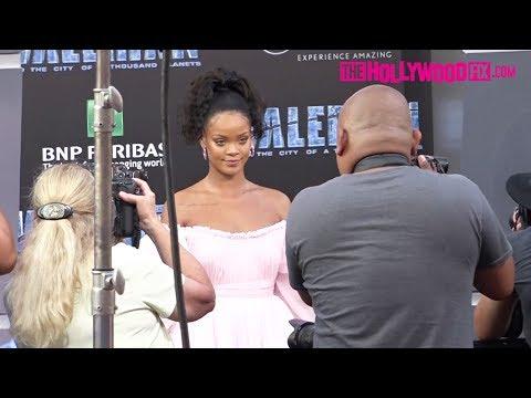 Rihanna Walks The Red Carpet At The Valerian Movie Premiere 7.17.17 - TheHollywoodFix.com