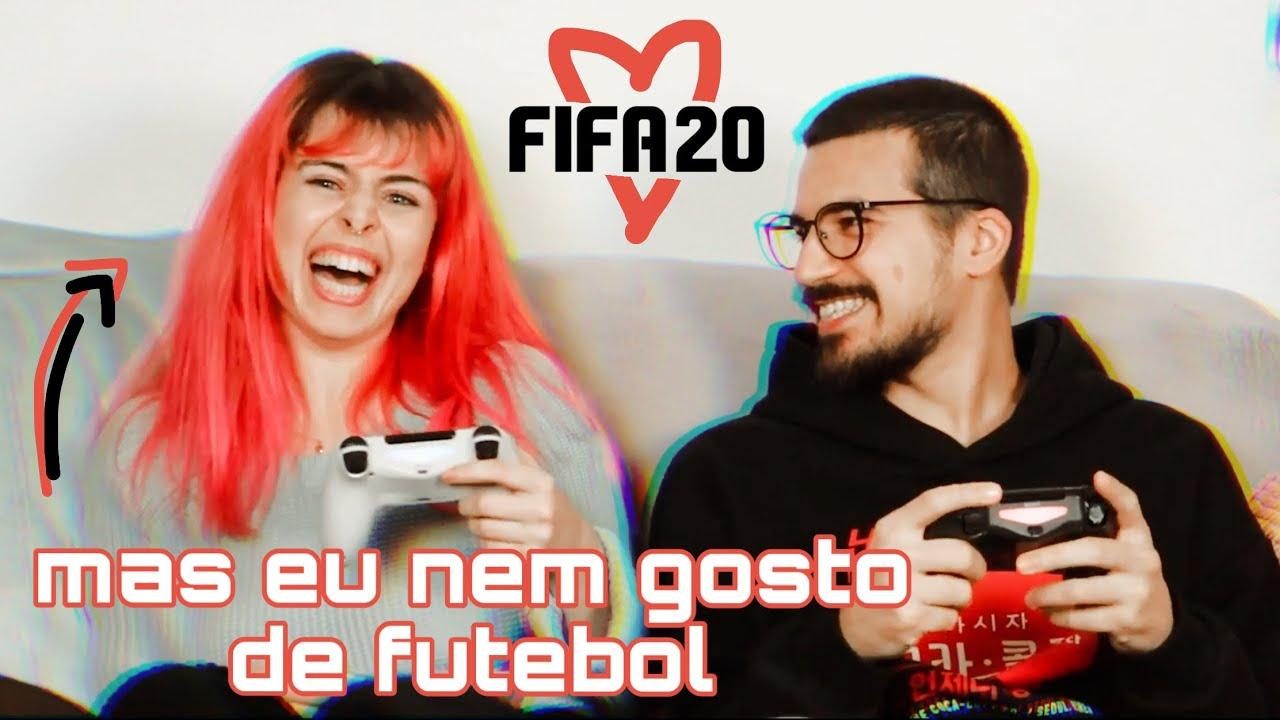 APRENDI A JOGAR FIFA COM O MEU NAMORADO