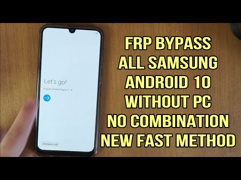 Samsung galaxy A30 / A30s Frp android 10 binary U5
