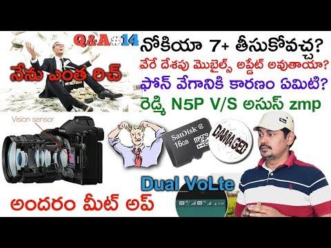 Nanis Question and Answer 14 ( Q&A#14 ) in Telugu   Tech-Logic