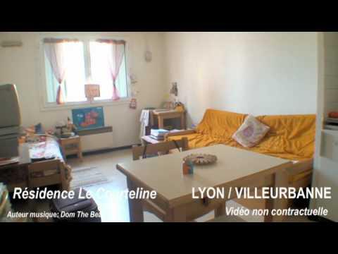 VILLEURBANNE LYON Résidence étudiante Le Courteline La Doua