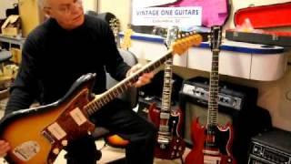 1965 Fender Jazzmaster Vintage Electric Guitar