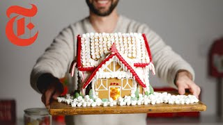 Pastry Chef Decorates a Store-bought Gingerbread House Kit | NYT Cooking