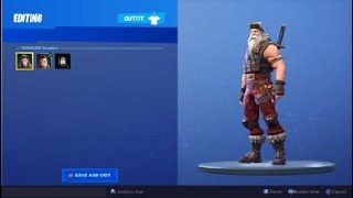 OG Fortnite sgt winter battle buss balloon skin