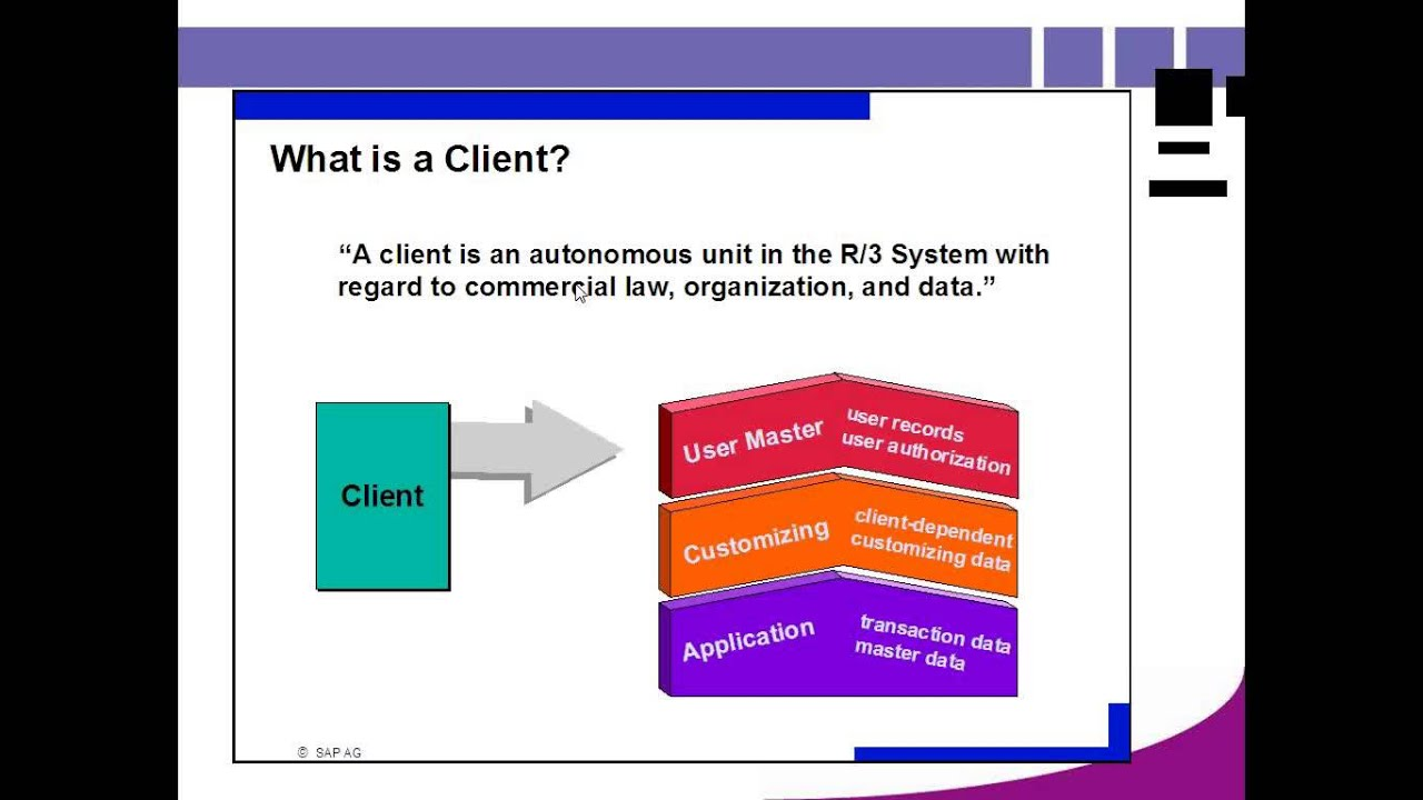 Client in SAP BASIS Training Part_1 - YouTube