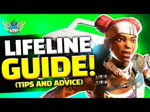 Apex Legends - Lifeline Guide! The Combat Medic! (Tips and Advice)