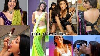 Repeat youtube video Kajal Agarwal Hot Looks | Indian Aunty Gujal Videos