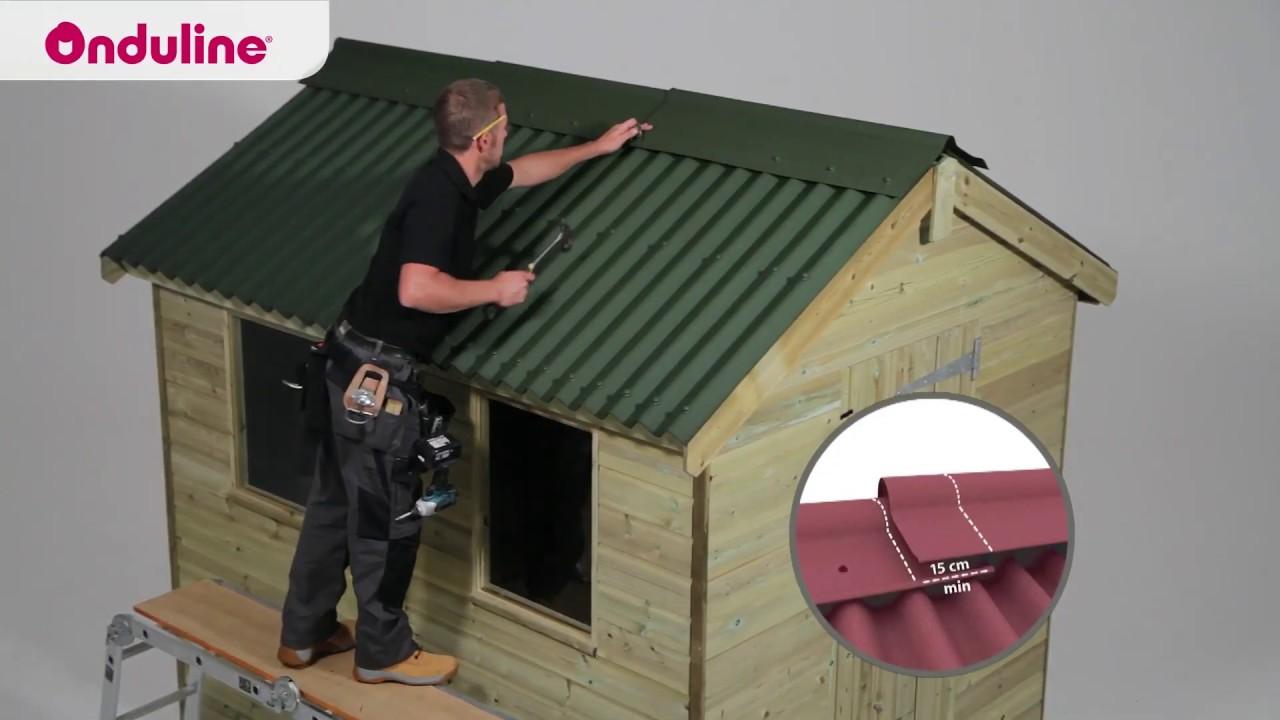Onduline Roofing Installation Youtube