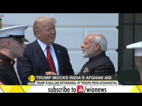 Trump mocks Indian PM Modi for library in Afghanistan