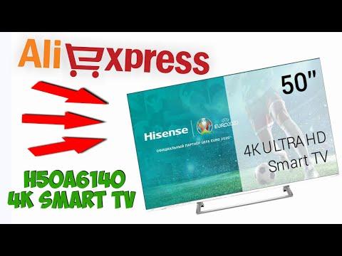 🖥ТЕЛЕВИЗОР Hisense 50 дюймов H50A6140 4K Smart TV ОБЗОР