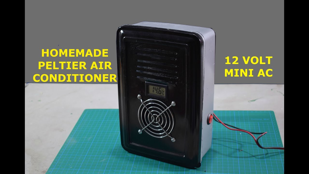 Peltier Air Conditioner - How to make Peltier AC at Home
