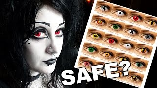 Are Coloured Lenses SAFE? 10 Care Tips! | Black Friday