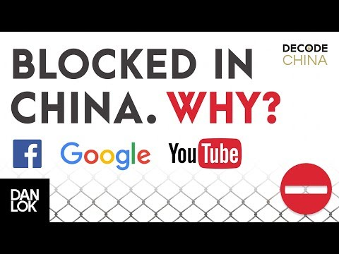 Why Are Google Facebook And Youtube Blocked In China - Decode China
