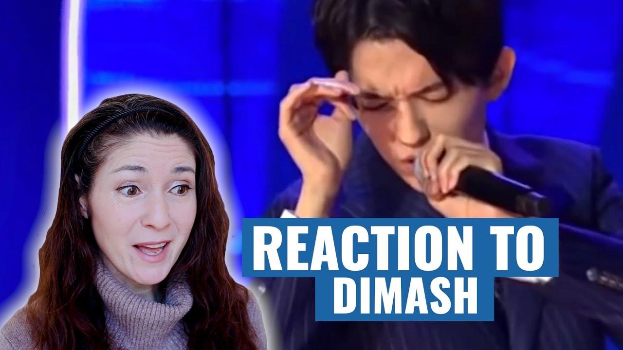 Vocal Coach Reacts to DIMASH KUDAIBERGEN: S.O.S. d'un terrien en détresse (Slavic Bazaar)