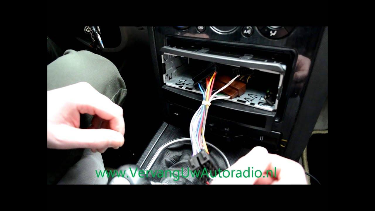 Ford Radioframe Inbouwinstructie Youtube