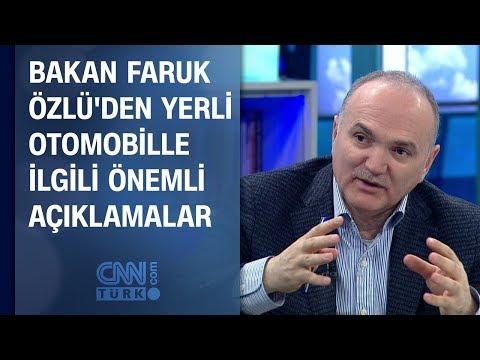 Bakan Faruk Özlü'den yerli otomobille ilgili önemli açıklamalar