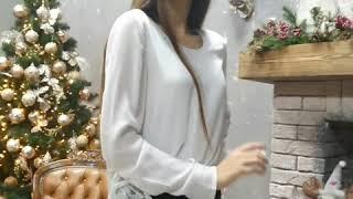 Стильные замшевые брюки-леггинсы цвета Айвори