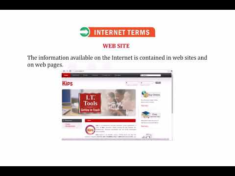 What is Internet terms (class-4)(5) - YouTube