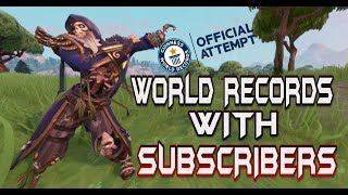 FORTNITE - ATTEMPTING WORLD RECORD WITH SUBSCRIBERS LIVE - WORLD LONGEST CONGA LINE / CODE:CRONIC