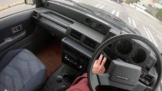 1990 Daihatsu Rugger 2.8TD 4WD Test Drive