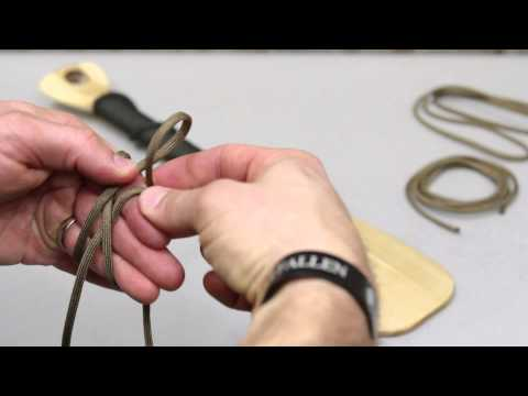 Knot of the Week: How to Wrap a Paddle or Handle with Paracord