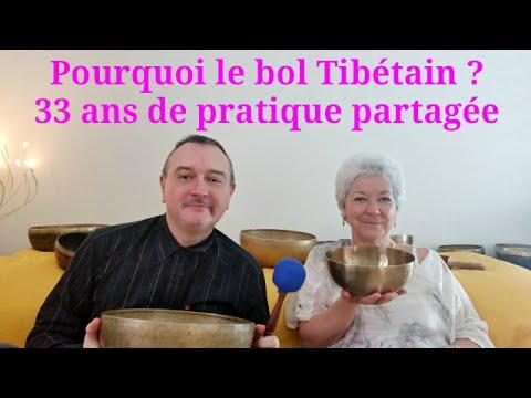 Marc Gury avec Patricia Menetrey Les bols Tibetains ✨