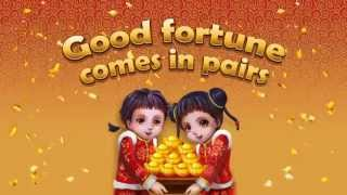 Lucky Twins online slot game [Wild Jackpots](A double dose of good fortune awaits at Wild Jackpots online casino with the Lucky Twins slot, a 5 x 3 reel video slot with 9 selectable paylines. Based on the ..., 2015-10-23T07:27:47.000Z)