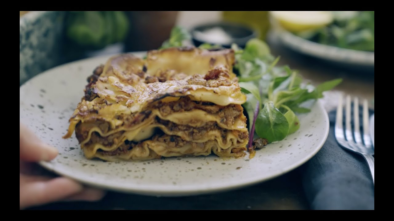 vegetarisk lasagne quorn