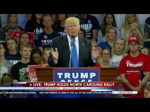Full Speech: Donald Trump Rally in High Point, NC at High Point University 9/20/16