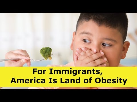 For Immigrants, America Is Land of Obesity