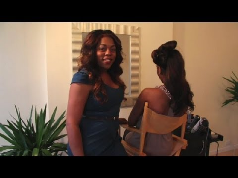 How To Do Pin Curls On Black Hair : Styling African-American Hair
