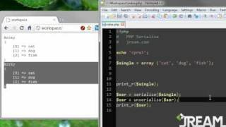 PHP Serialize Tutorial (17) thumbnail