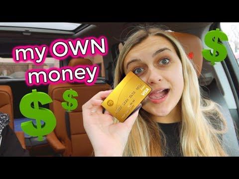 teen-controls-her-own-money!-first-debit-card!