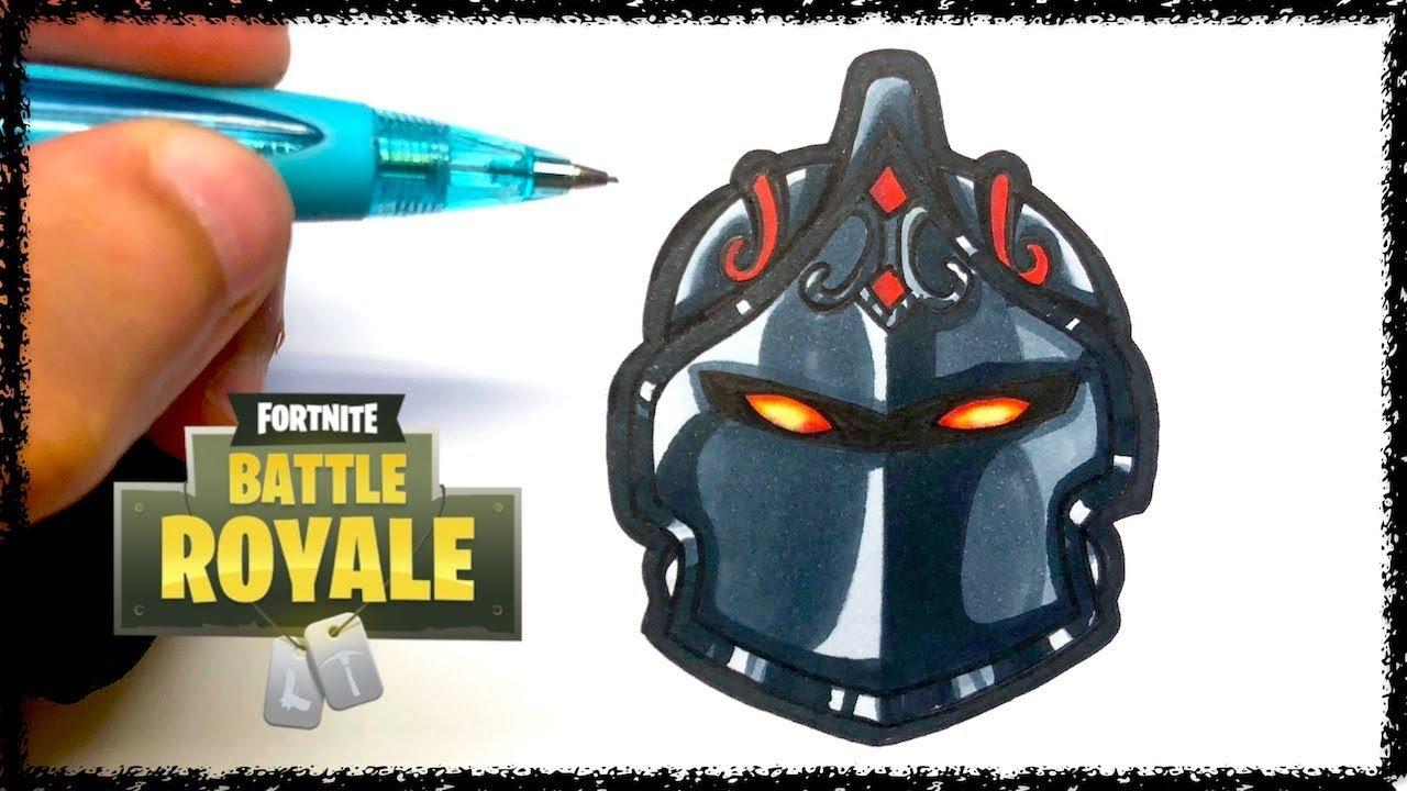 Draw Dark Knight Fortnite