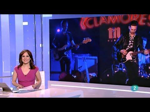 Laurence Jones on La 2 Noticias Spanish RTVE