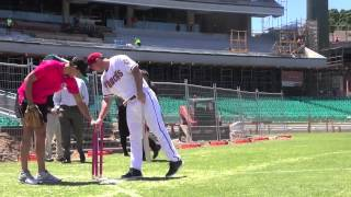 Sixers and Arizona Diamondbacks at the SCG