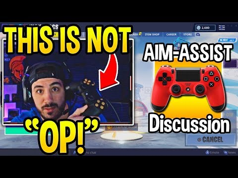 NICKMERCS *GOES OFF* on PRO PC PLAYERS Who Say AIM-ASSIST is OP (FULL DISCUSSION)