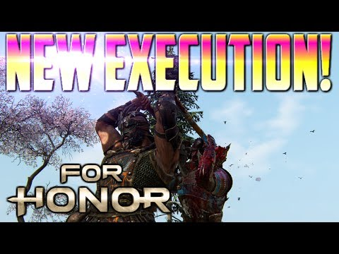 [For Honor] NEW Berserker Execution! Patch 1.09